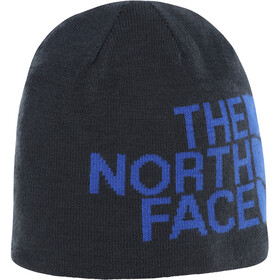 The North Face Reversible TNF Banner Beanie Urban Navy/TNF Blue Logo Xl